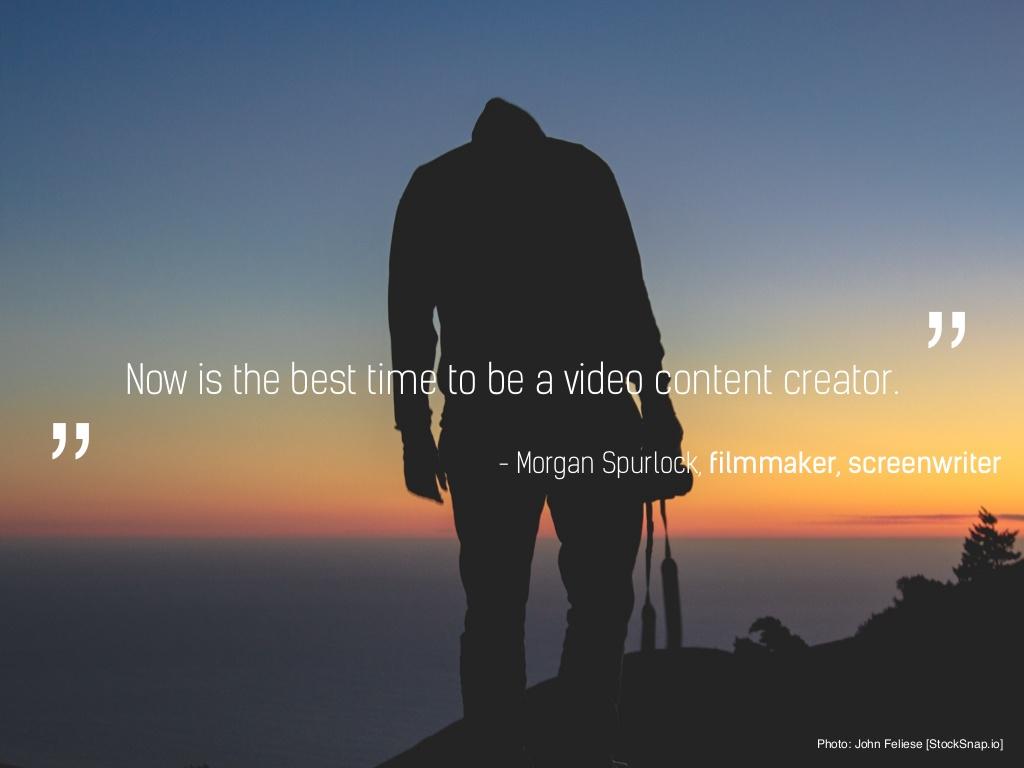 유투브 영상으로 세계적인 스타가 되는 시대, 아이스 버킷 챌린지로 '동영상 맛'을 보고 동영상 기능을 강화하는 페이스북까지... 영상 콘텐츠 만들기 딱 좋은 시대.