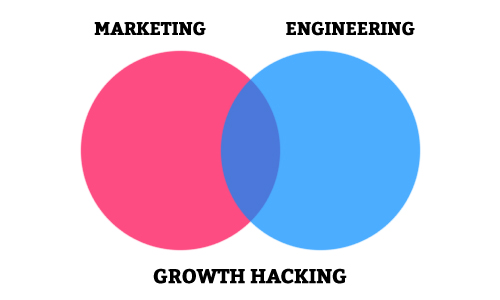 ※ 이미지 출처 : https://blog.hartleybrody.com/growth-hacker-definition/