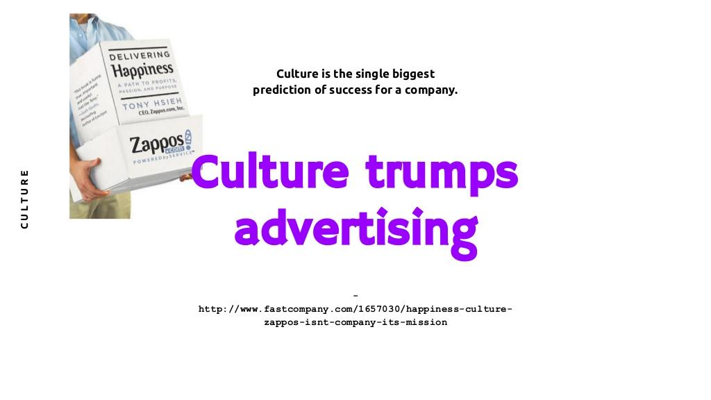 기업/브랜드 고유의 '문화'로 광고하라. 그러고 보니 구글 사람들, 작년엔 , 올해는 를 출간했다. 둘다 사내 문화를 다룬 책이다.