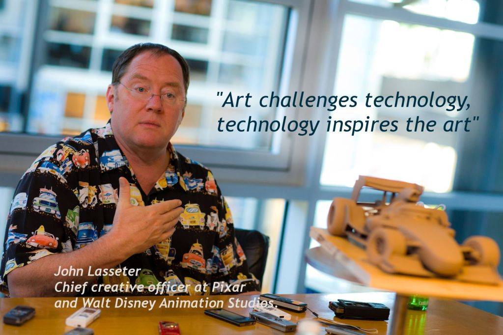 ※ 이미지 출처 : https://mahesh0806.wordpress.com/2012/04/09/great-words-from-john-lasseter/