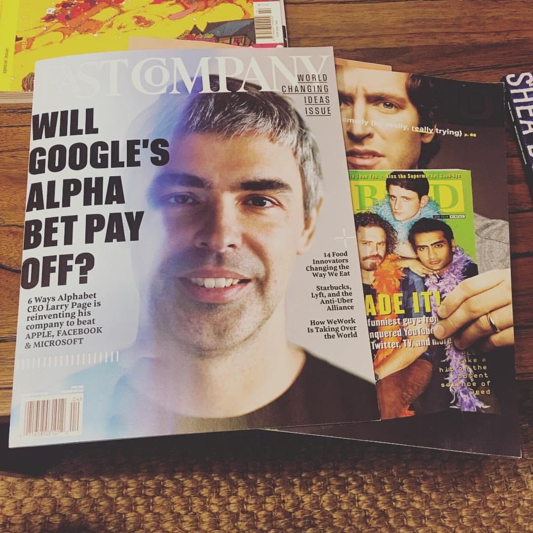 내가 좋아하는 잡지를 모두 구독하고 있어서 부러웠던 페이스북 코리아.