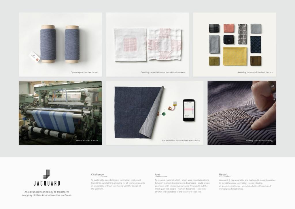 이미지 출처 : adeevee http://www.adeevee.com/2016/06/google-atap-project-jacquard-media-direct-marketing-design/