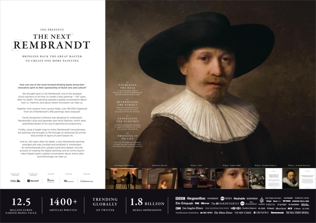 이미지 출처 : adeevee http://www.adeevee.com/2016/06/ing-the-next-rembrandt-media-promo-pr-online/