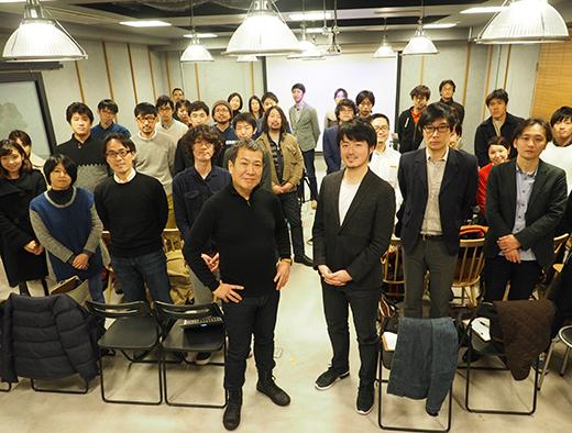 이벤트 종료 후, LIFE MAKERS 회원과의 단체 사진